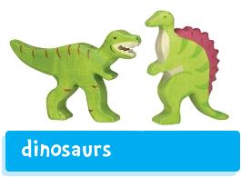 Holztiger Dinosaurs
