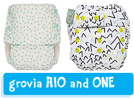 GroVia all-in-one nappies