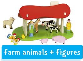 Holztiger Farm Animals