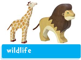 Holztiger Wildlife Animals