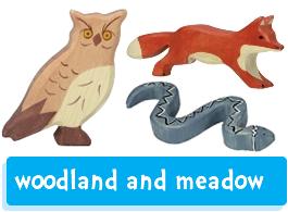 Holztiger Woodland Creatures