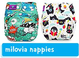 Milovia Nappies & Covers