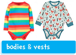 baby vests & bodies