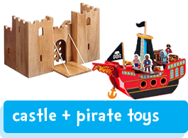 castle & pirate toys