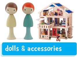 dolls, dolls house & accessories