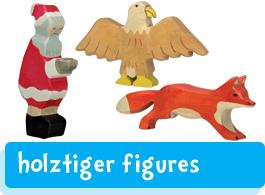 Holztiger wooden figures