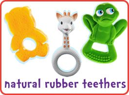 Rubber Teethers