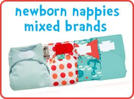 Newborn cloth nappies