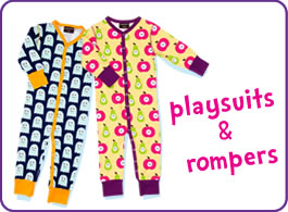 playsuits & babygrows