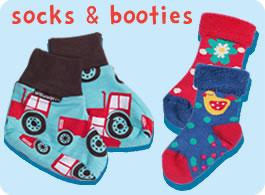 organic baby socks & booties