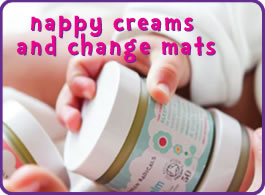 Changing creams & mats