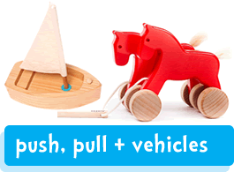 push, pull and vehicles