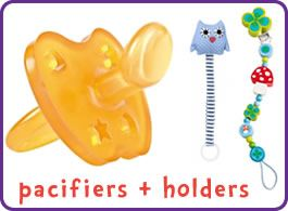 Pacifiers & Holders
