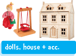 dolls houses, people & furniture
