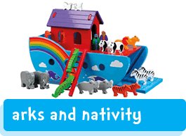 Noah's arks and Nativity