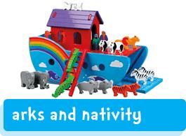 Noah's arks and Nativity