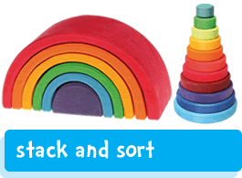 sorting & stacking toys