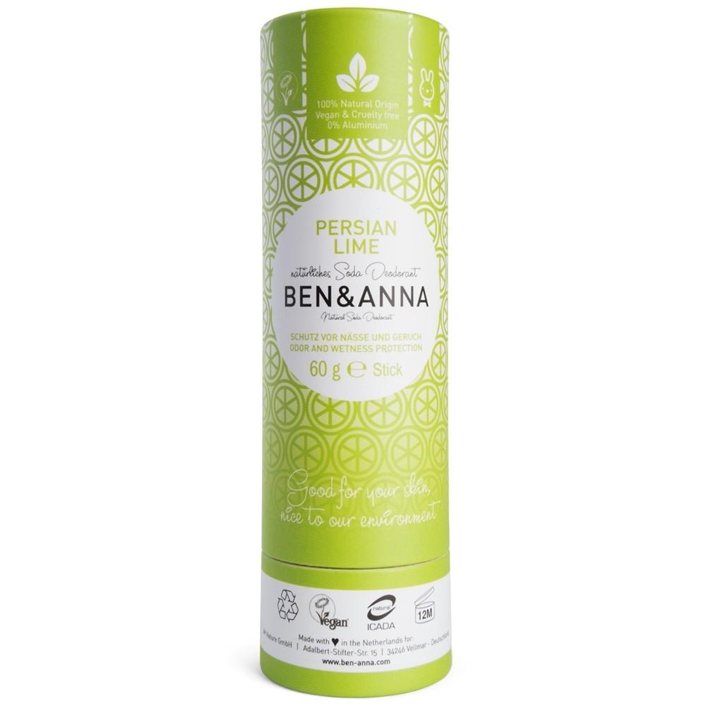 Ben Amp Anna Deodorant Paper Stick Persian Lime