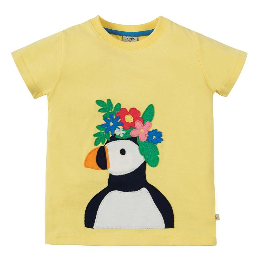 Frugi Puffin Evie T Shirt
