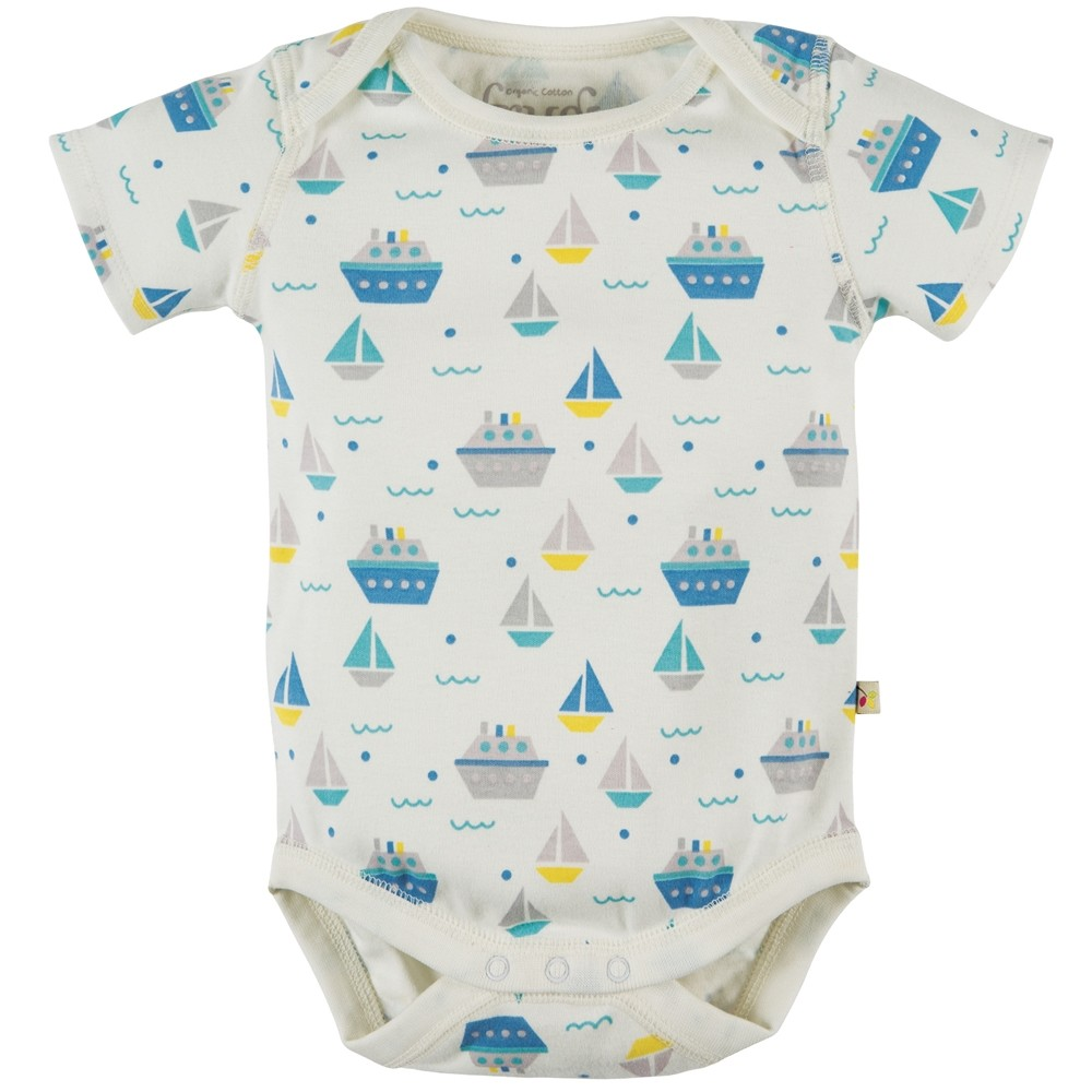 My First Frugi Teeny Body 2 Pack - Summer Seas