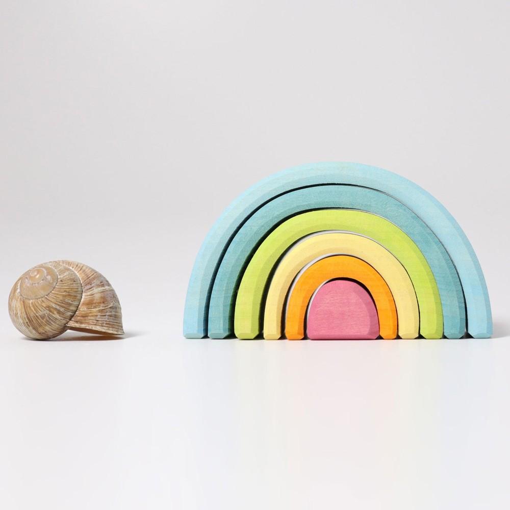 Grimm S Mini Pastel Rainbow 6 Pieces