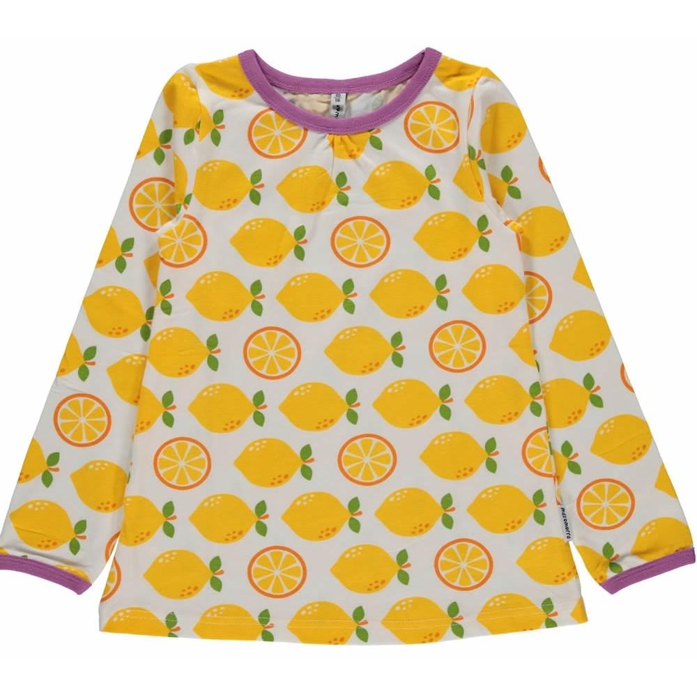 Maxomorra Lemon A Line Top