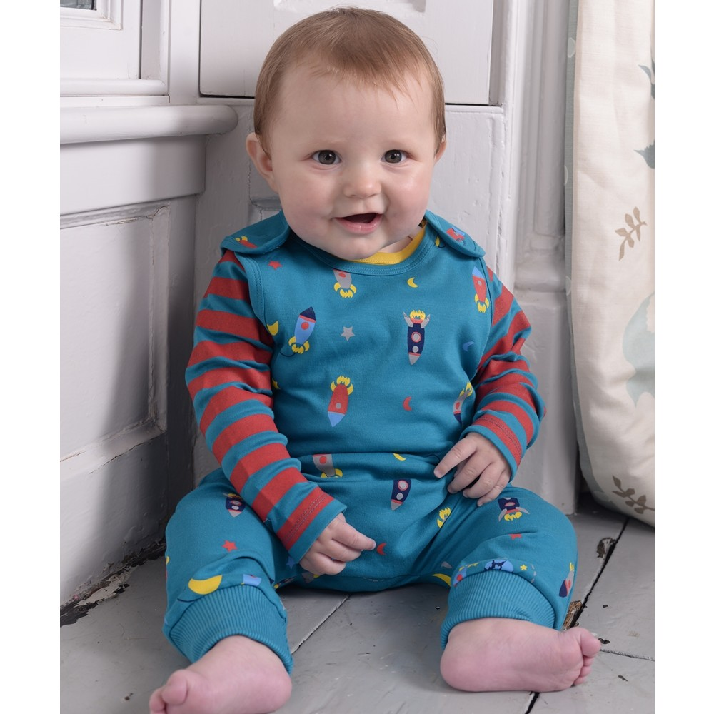 8ae38e0f632c Piccalilly Rocket Dungarees