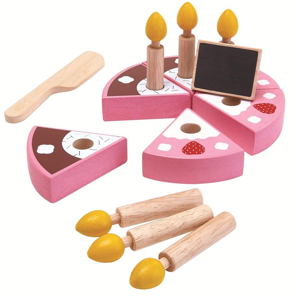 Plan Toys Birthday Cake Set