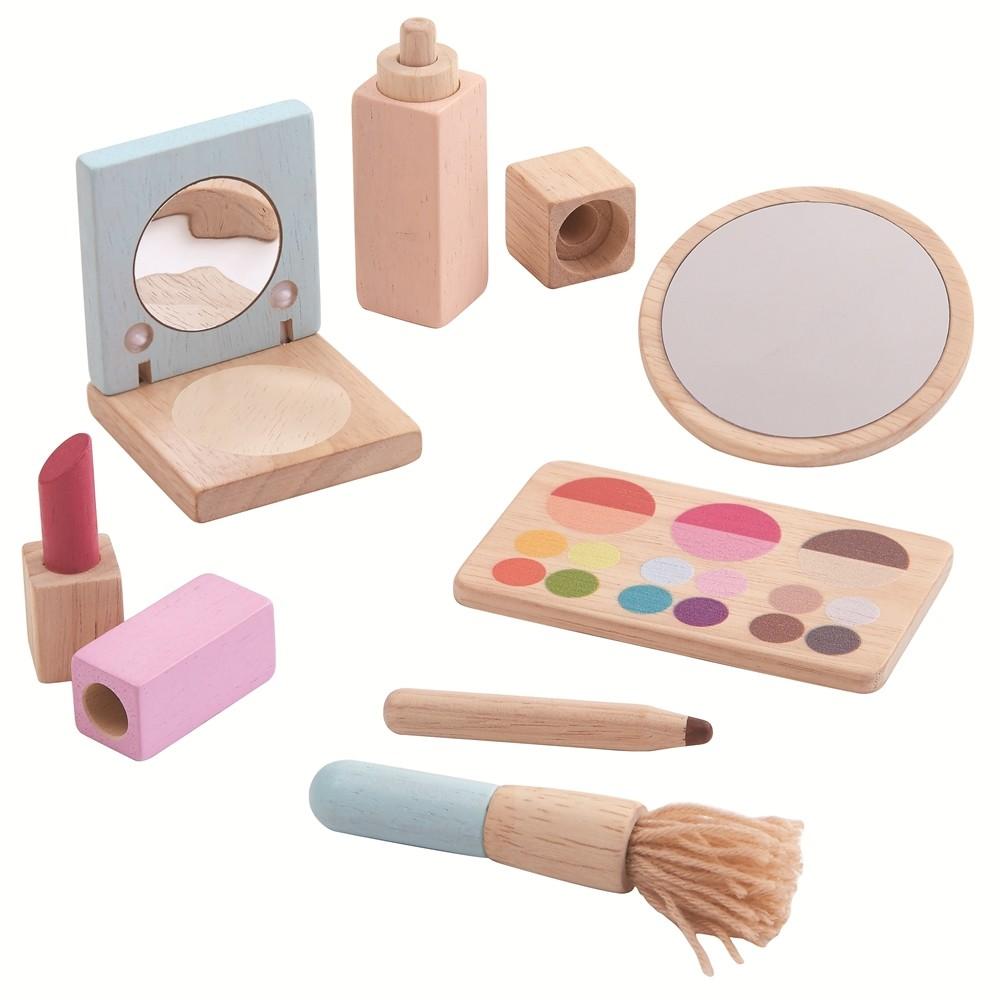 Wooden Makeup Set