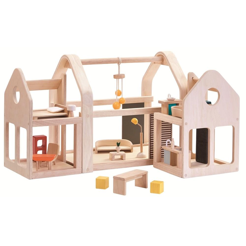 Plan Toys Slide N Go Dolls House