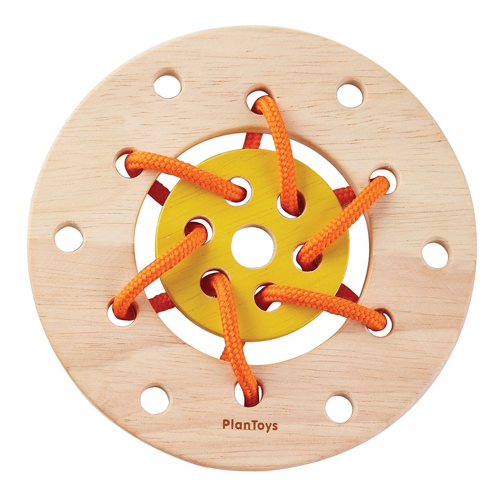 Wooden Toys Catalog : Plan toys lacing ring