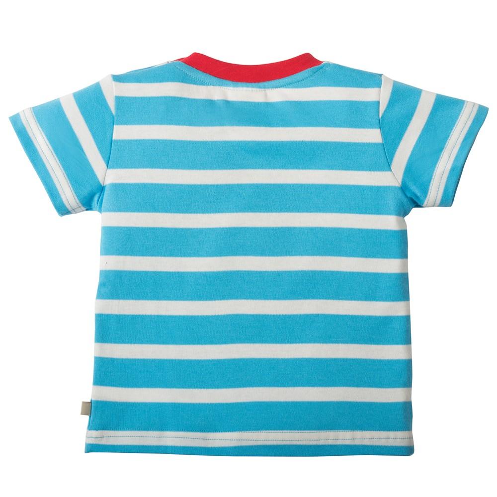 Frugi Boat Little Fal Applique T Shirt