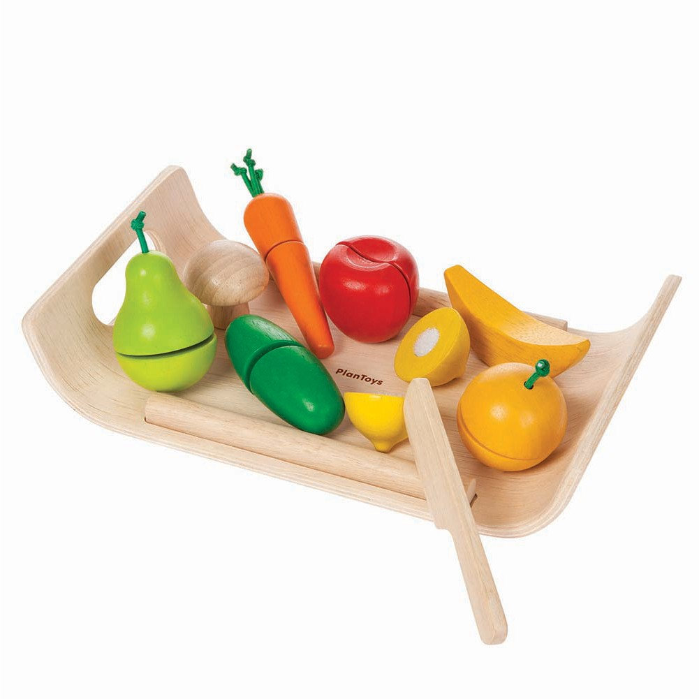 Plan Toys Fruit Amp Vegetables Tray