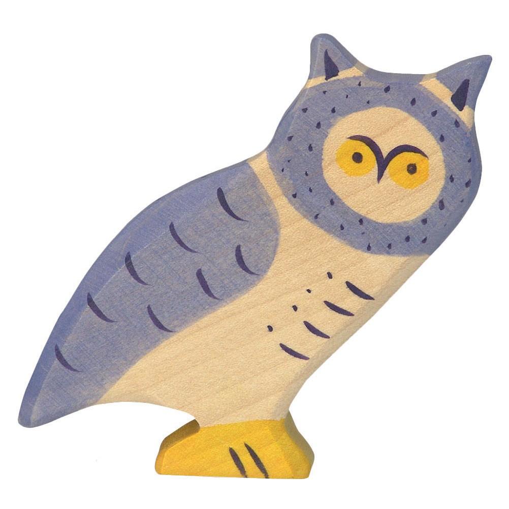 Holztiger owl for Home decor 80121