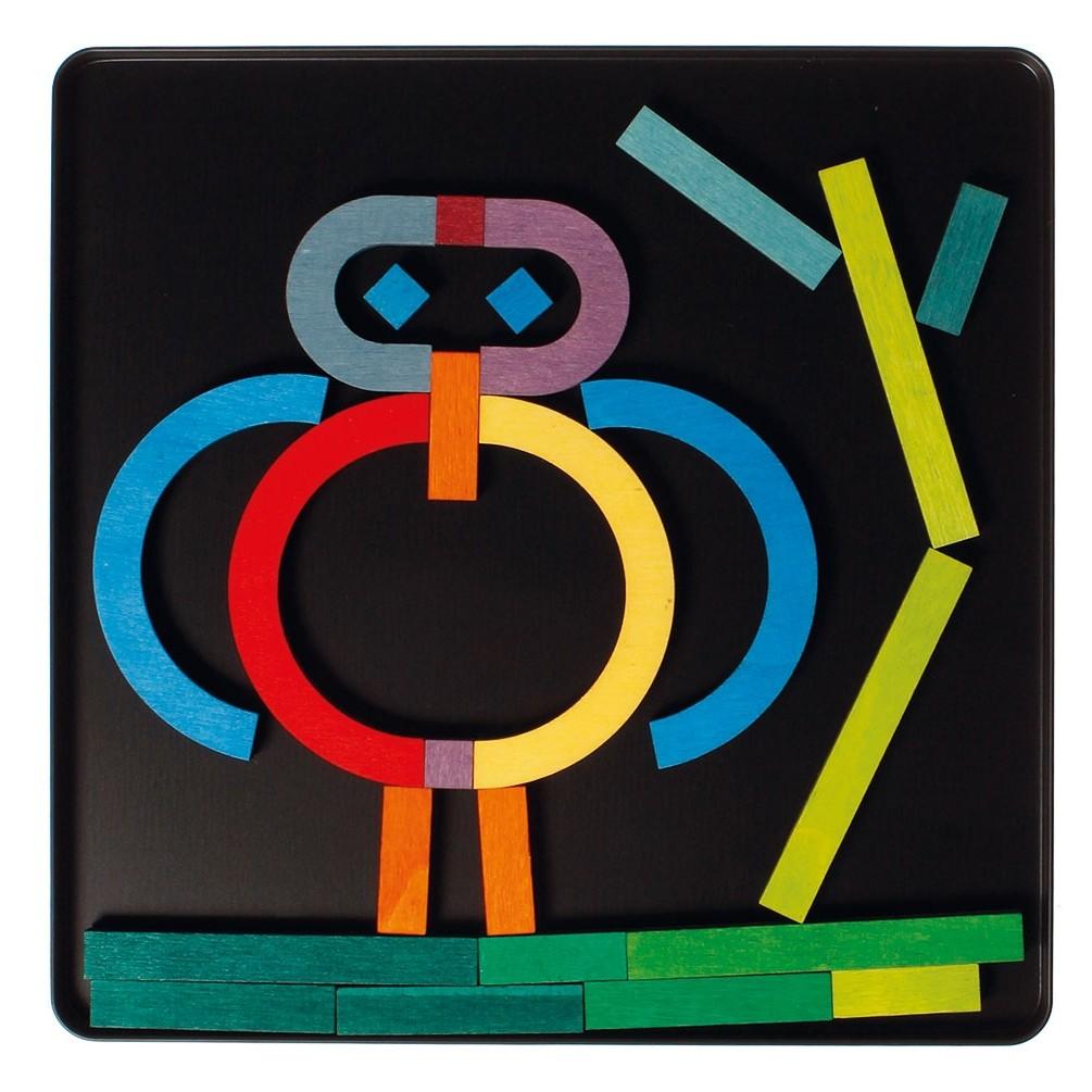Grimm S Magnet Puzzle Alphabetic Letters