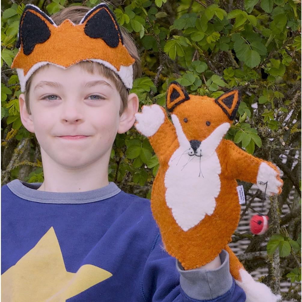 e0199749d Sew Heart Felt Fox Puppet