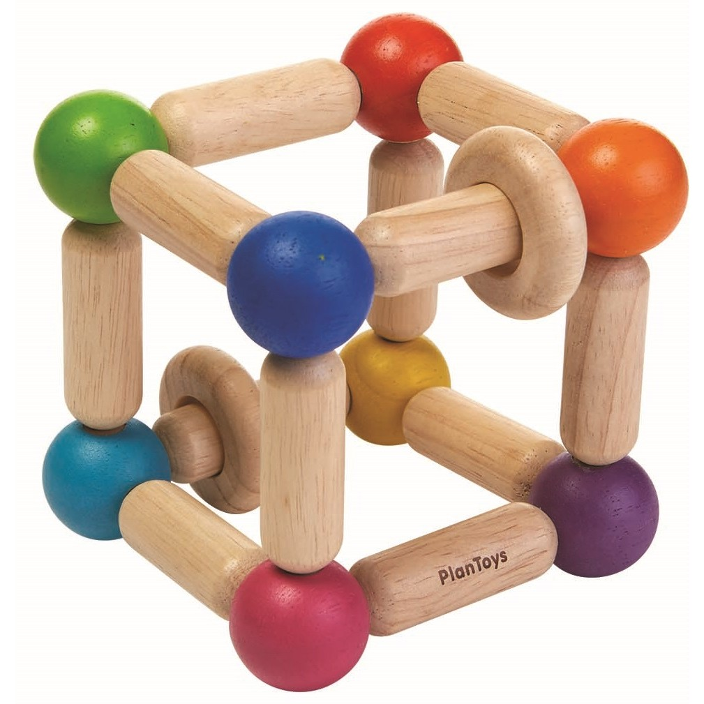 Toys For Toys : Plan toys square clutching toy