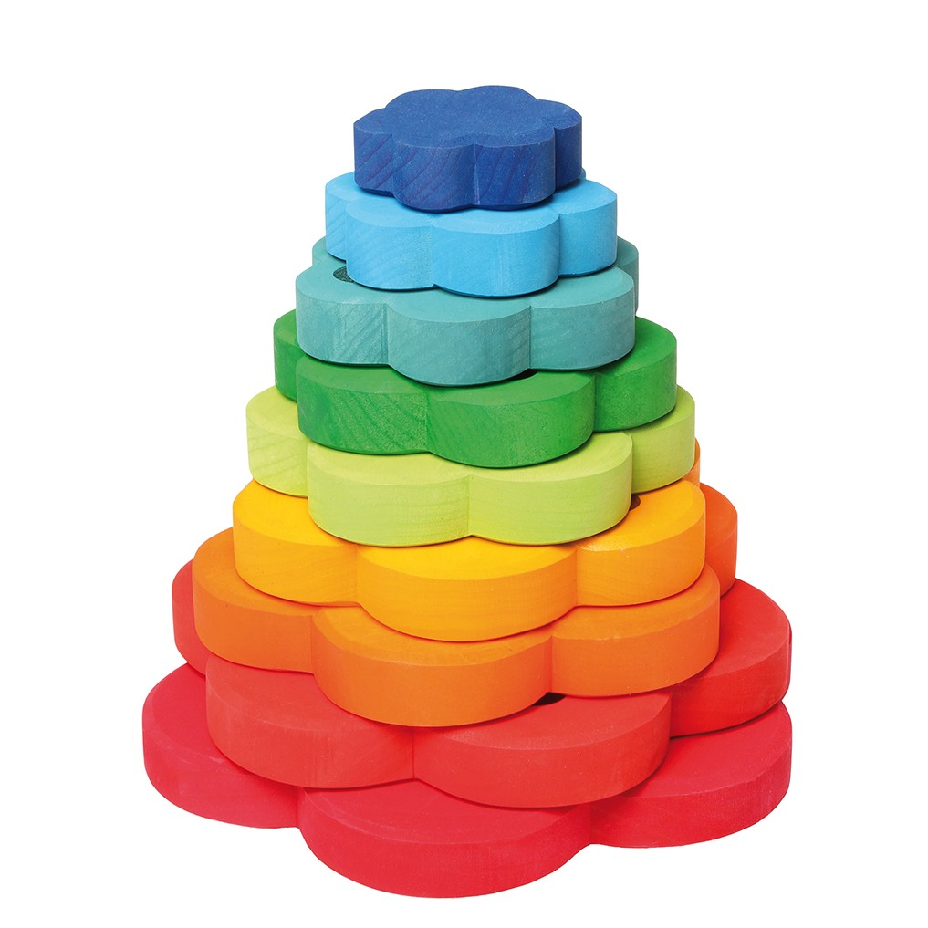Grimm S Stacking Flowers Tower