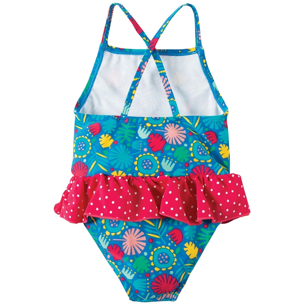 0fc560b58bb0c Frugi Jungle Little Coral Swimsuit