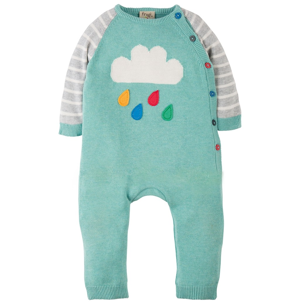 500542f0e Frugi Cloud Cosy Knitted Romper. Click to expand