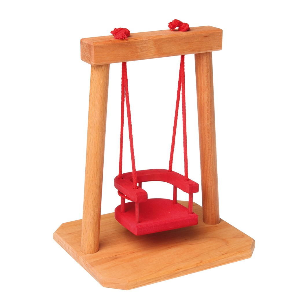 Grimm 39 s swing Dolls wooden furniture