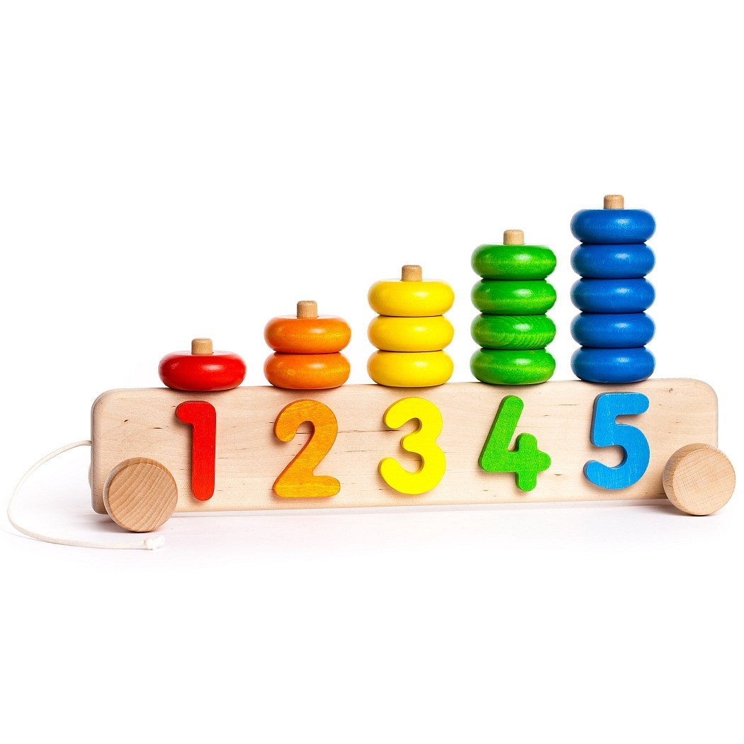 Wooden Toy Parts Catalog : Bajo stacker