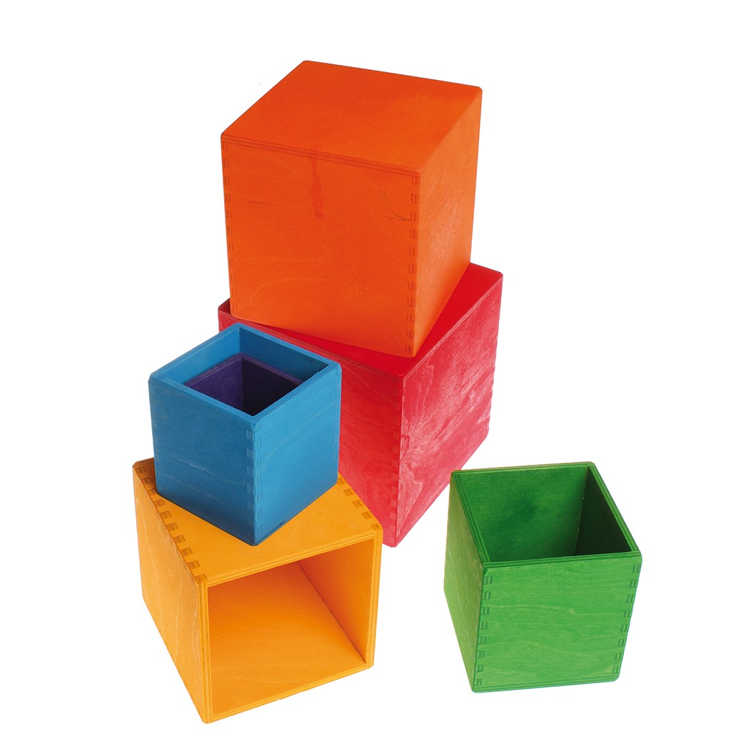 Grimm S Large Coloured Boxes Set