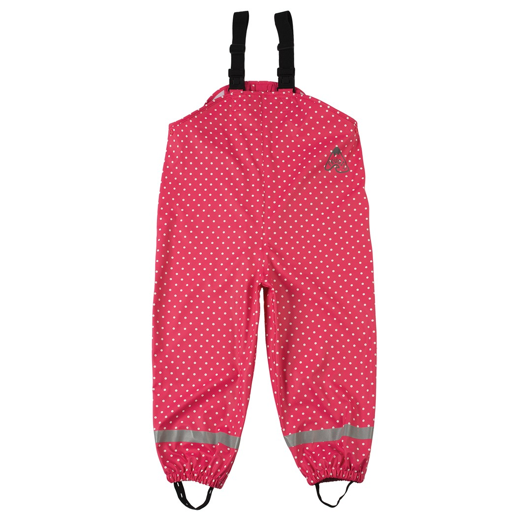 Frugi Raspberry Pin Spot Puddle Buster Trousers