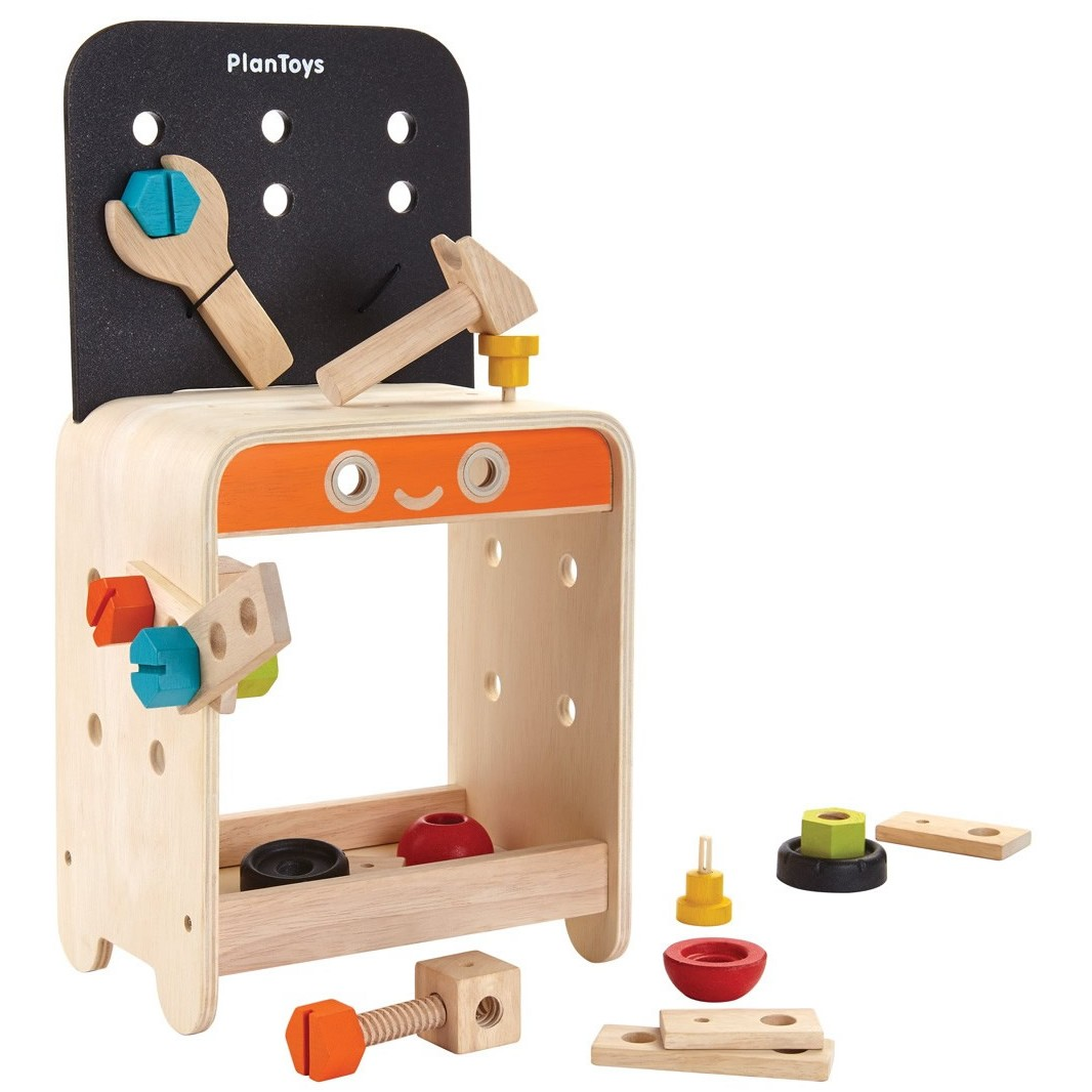 Toys For Work : Plan toys work bench