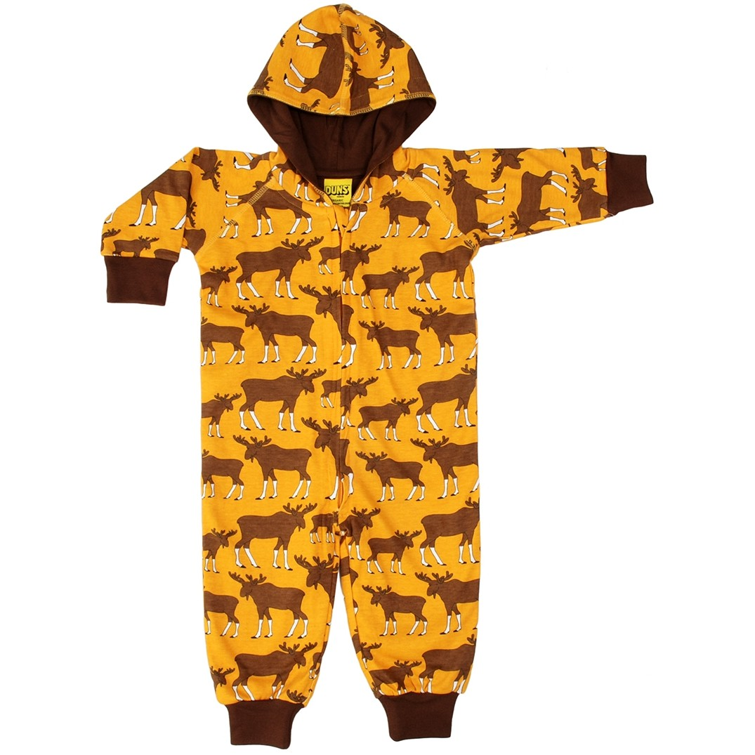 a410cdf08 DUNS Mustard Moose Lined Hooded Suit