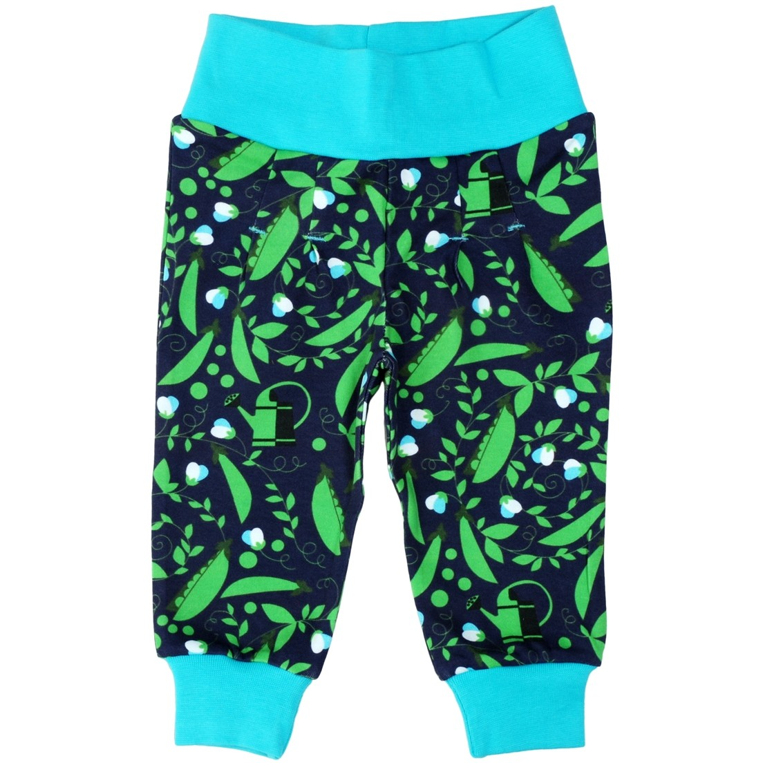 46d7740493631 DUNS Blue Pea Baby Pants. Click to expand