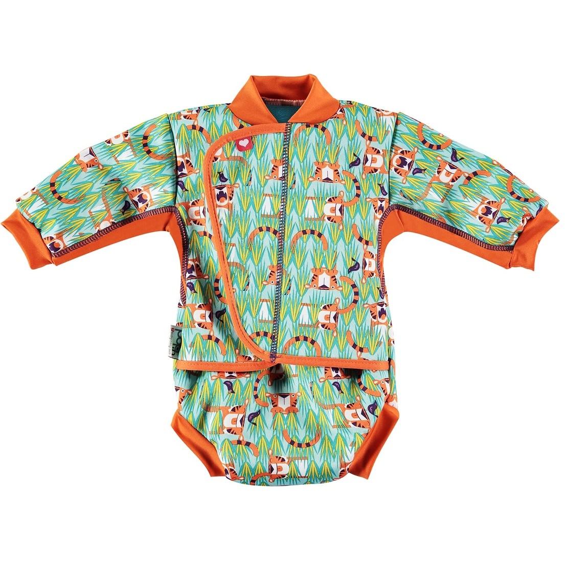 30c78aa0b99 Pop-In Baby Cosy Suit Tiger