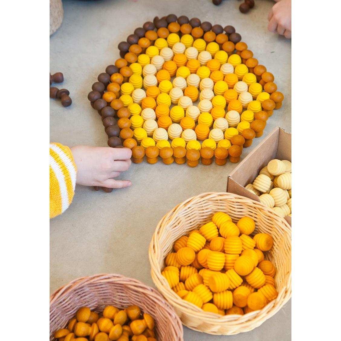 Grapat Extras Grapat Mandala Mini Honeycombs X36