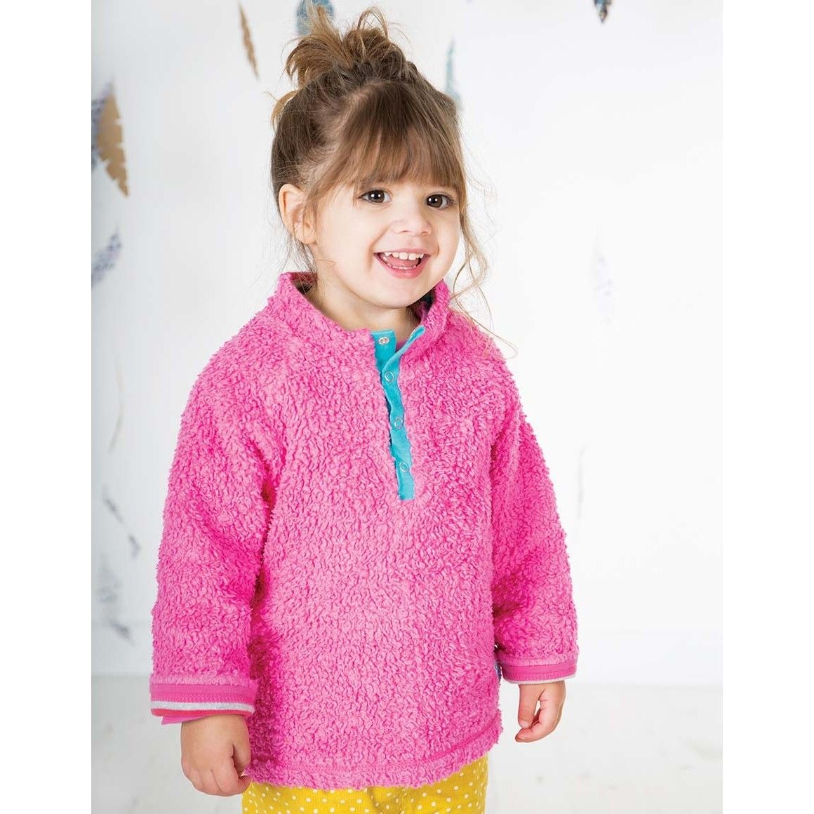 Frugi Rainbow Marl Little Snuggle Fleece